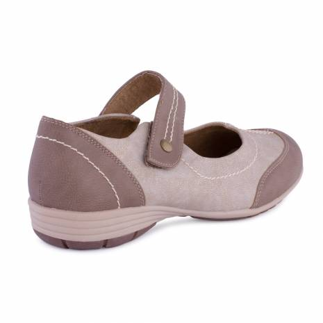 Pantofi dama, FootFlexx, maro