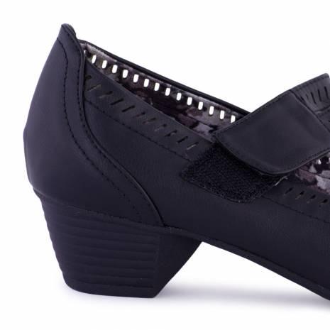 Pantofi dama, FootFlexx, negri