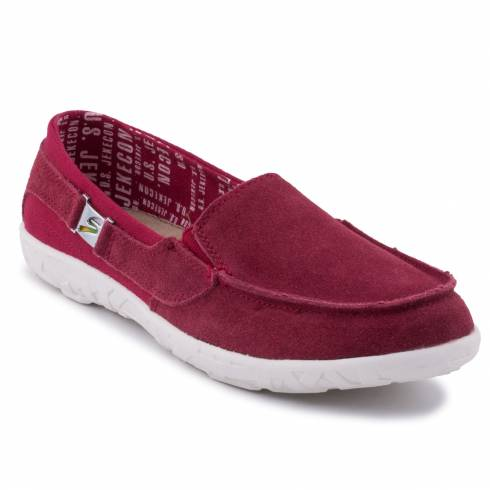 MOCASINI JEKECON BORDO
