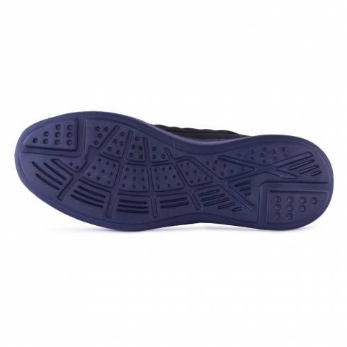 Sneakers, Jumex Collection, bleumarin-negru