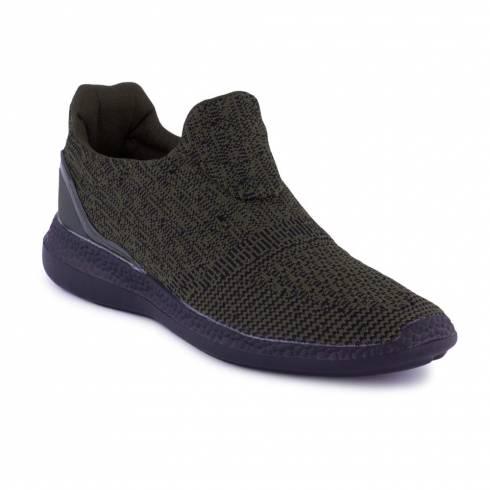 Pantofi sport, Jumex Collection, kaki-negru