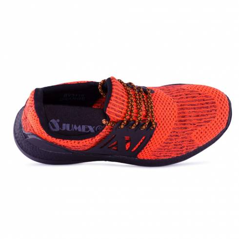 Sneakers, Jumex Collection, portocaliu-negru