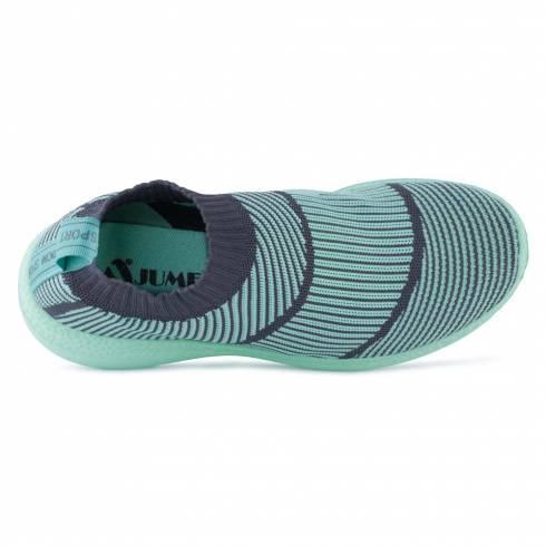 Sneakers, Jumex Collection, turcoaz-negru