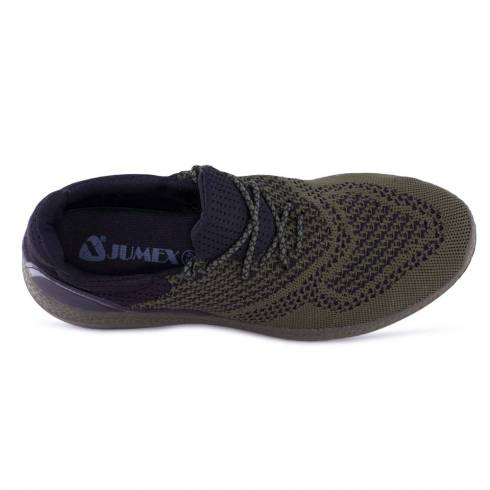Sneakers, Jumex Collection, negru-kaki