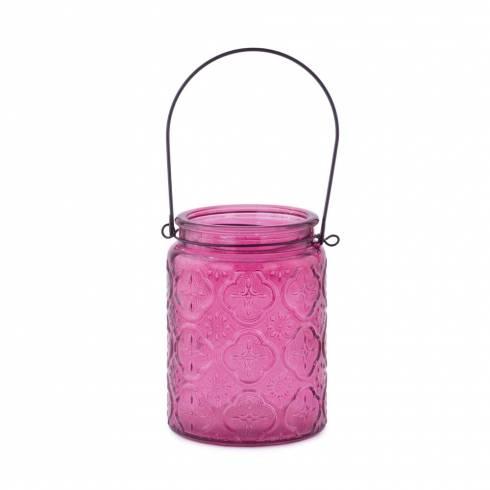 Felinar decorativ, roz