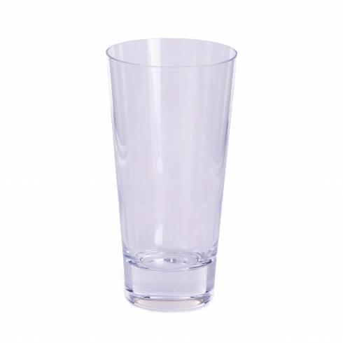 Pahar de sticla, conic, transparent 15 cm