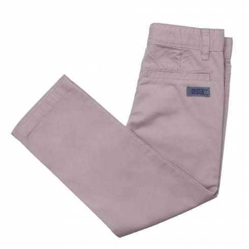 Pantaloni lungi baieti, Impidimpi, crem