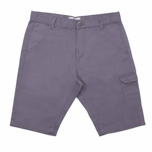 Pantaloni trei sferturi baieti, Alive, gri