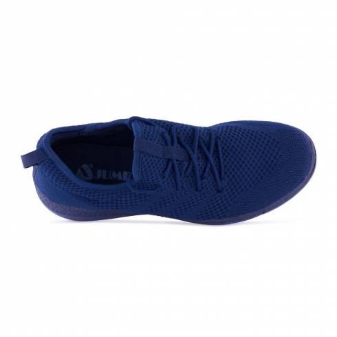 Sneakers, Jumex Collection, bleumarin cu sireturi
