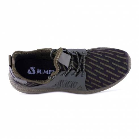 Sneakers, Jumex Collection, kaki-negru