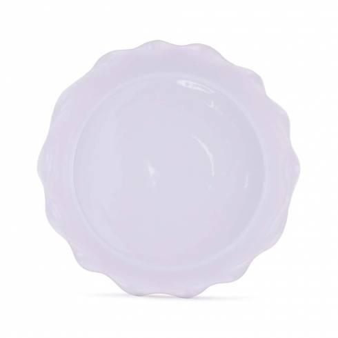 Tava din ceramica, alb
