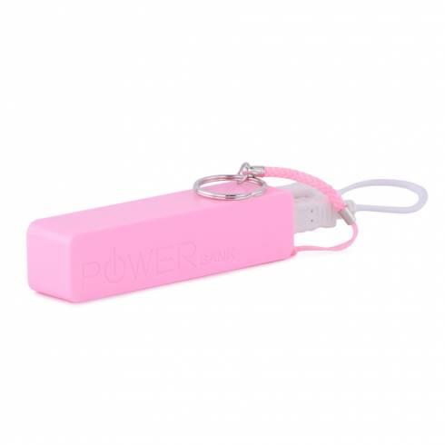 Baterie externa portabila pentru telefon, I-connect, roz