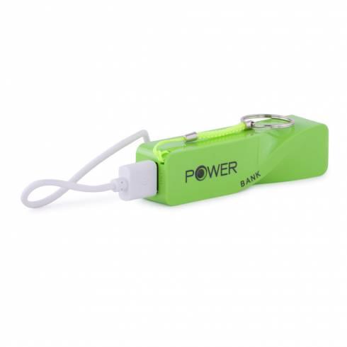 Baterie externa portabila pentru telefon, verde