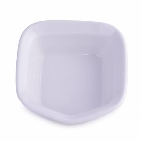 Bol, din ceramica, alb,16 x 15 x 5.5 cm