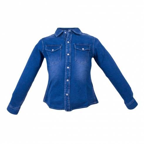 Camasa pentru copii,  Pepperts, de blugi albastra,