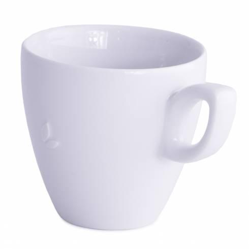 Ceasca pentru cafea, Walkure, din ceramica, alba, 300 ml