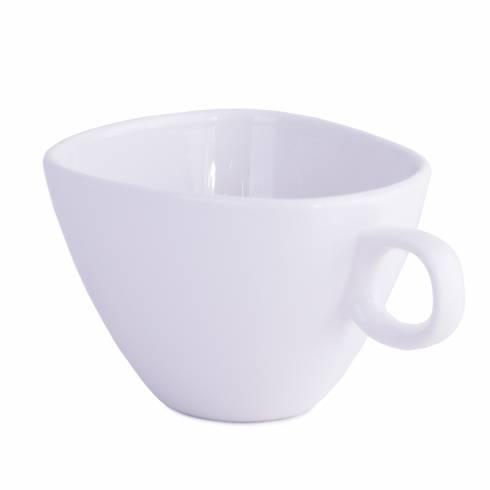 Ceasca de cafea, din ceramica, alba