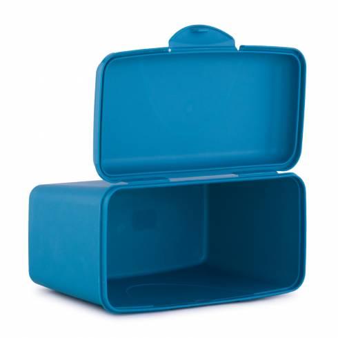 Cutie pentru depozitare, cu capac, turcoaz