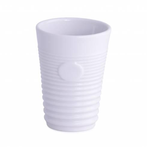Pahar, Walkure, din ceramica, alb, 300 ml