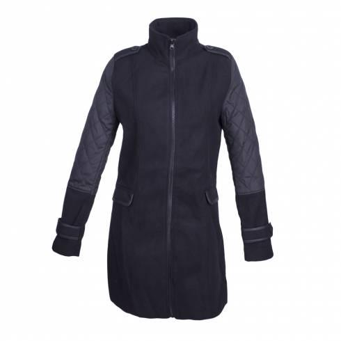 Palton Esmara, negru
