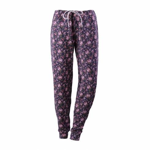 Pantaloni de trening Esmara, gri cu imprimeu floral