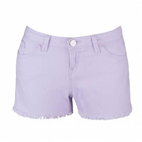 Pantaloni dama, scurti, mov deschis