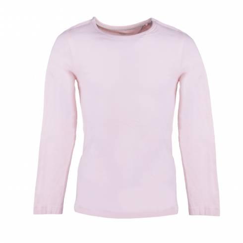 Set 2 bluze de fetite, ivory, negru-roz