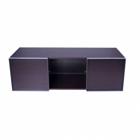 Comoda TV Quadro, Ciatti, 135X50 cm, wenge