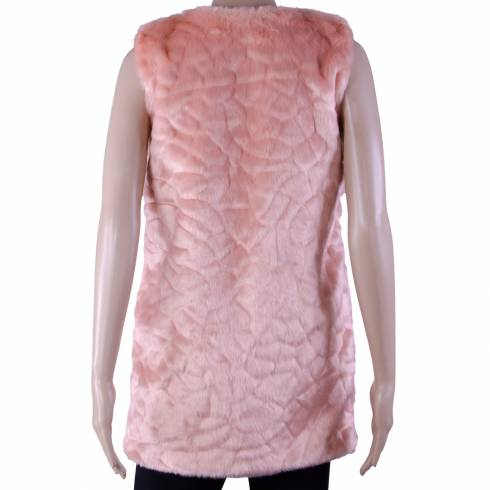 Vesta blana REmarcabil, roz-piersica