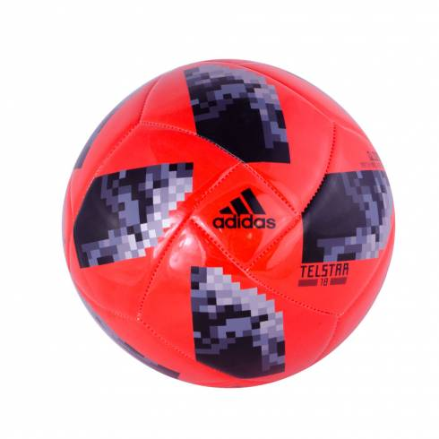 Minge de fotbal Adidas, portocaliu cu negru