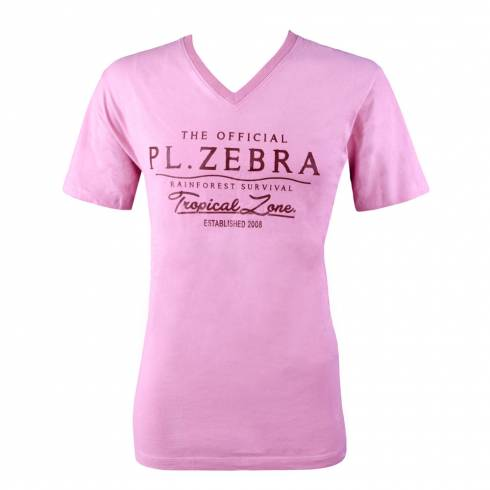 Tricou Police barbati, roz