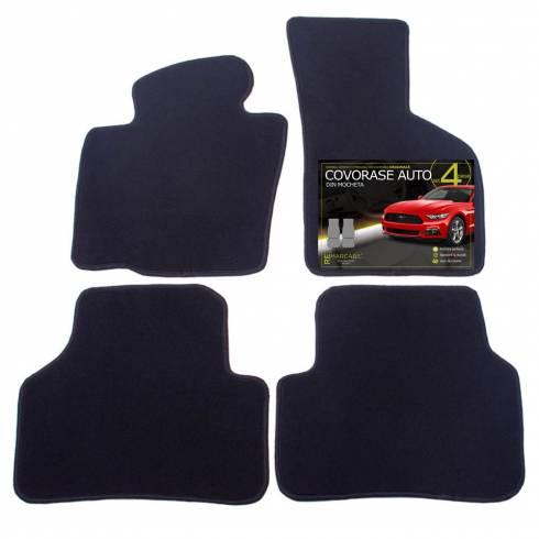 Covorase pentru masina, W. Passat B6, negru, textil