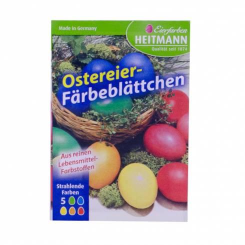 Vopsea oua, Eierfarben heitmann, hartie, multicolor