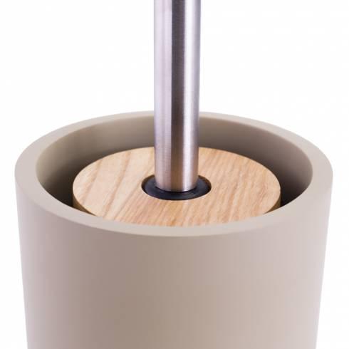 Perie WC cu suport din ceramica