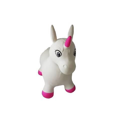 Jucarie gonflabila unicorn alb