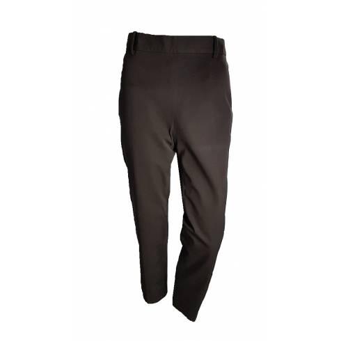 Pantaloni de stofa, Cortefiel, maro inchis
