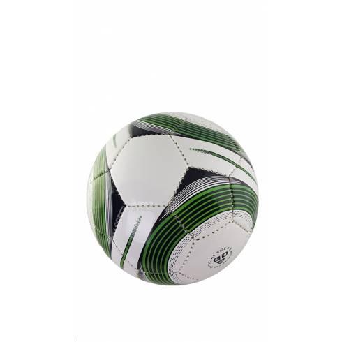 Minge de fotbal, alb-verde