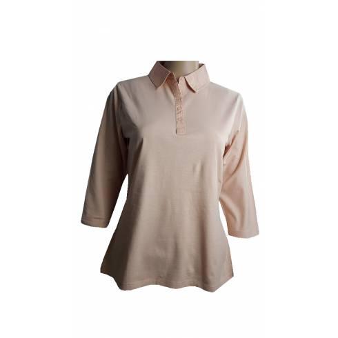 Bluza dama Esmara, roz-piersica, guler