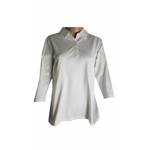 Bluza dama Esmara, alba cu guler
