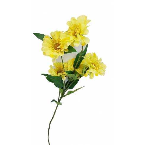 Fir floare galbena artificiala
