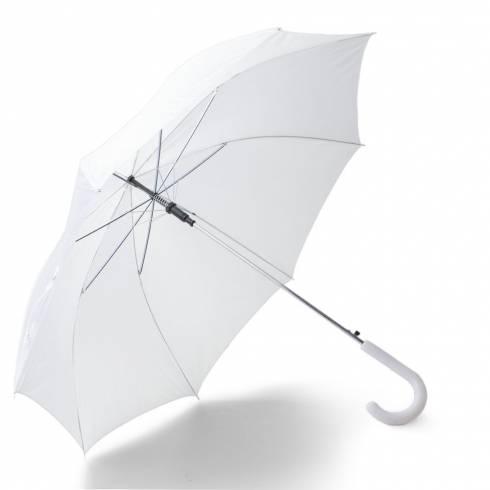 Umbrela de ploaie, alba