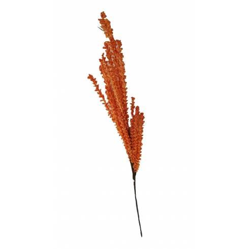 Fir crenguta artificiala decorativa portocalie