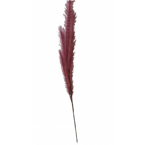 Fir crenguta artificiala decorativa, roz