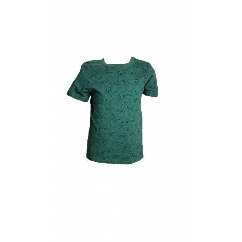 Set tricouri Lupilu, baieti, alb-verde-turcoaz