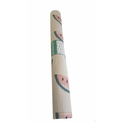 Covoras alb-verde-roz