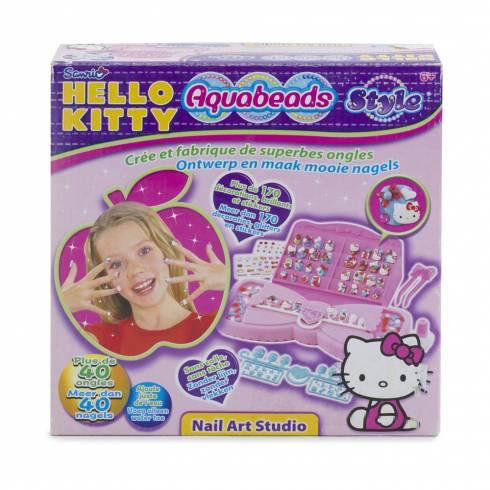 "Joc trusa pentru manichiura ""Hello Kitty"""