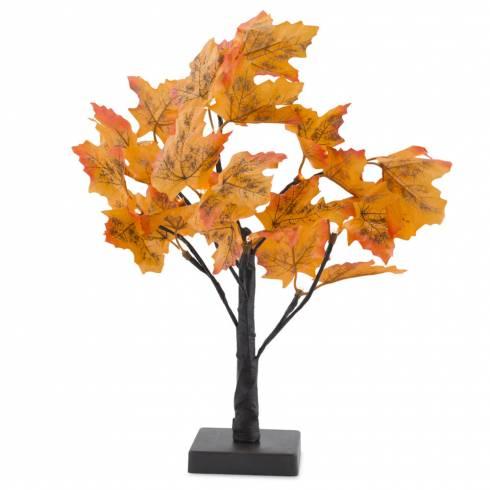 Copacel din plastic, decorativ, cu led-uri