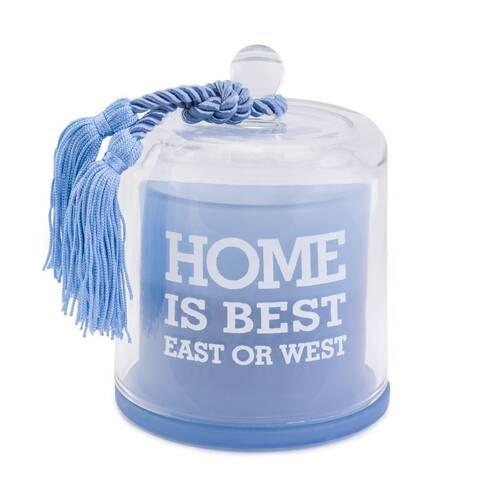 Lumanare decorativa, albastra