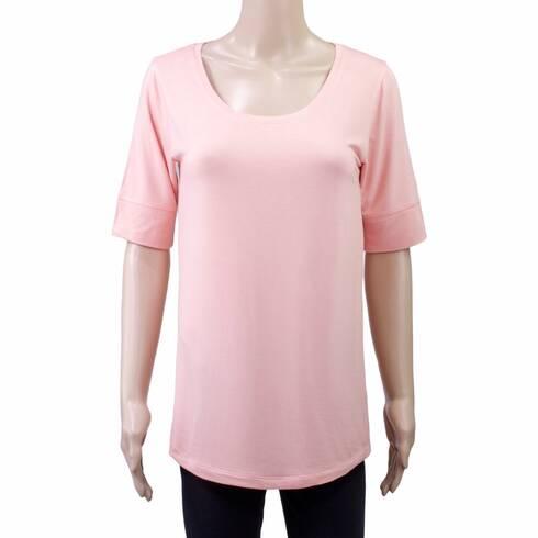 Tricou femei, Esmara, roz-piersica