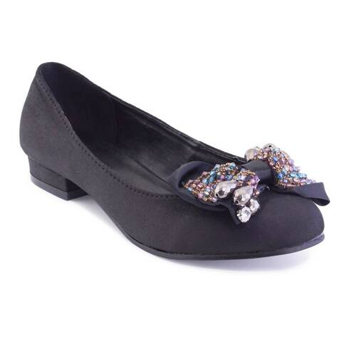 Pantofi dama, Luciano Fabbri, negri cu sclipici